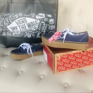 aa6cacb5330f Vans Shoes - Vans Authentic Platform 2.0 in Medieval Blue
